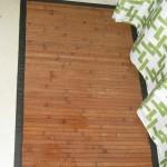 Derek's bamboo bath mat