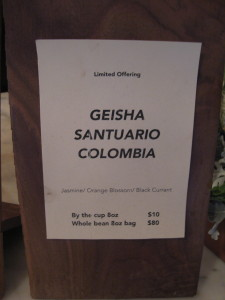 Geisha santuario sign