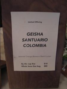 Geisha santuario sign