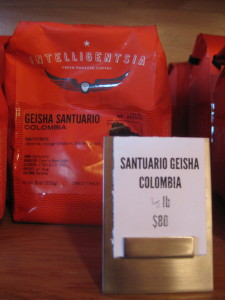 Geisha Santuario beans